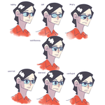 Johan Expression Chart by CinamonToastCrunch
