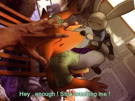 Zootopia - Touching problem by doraemonbasil