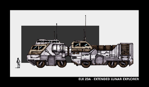 ELX 23A - Ext. Lunar Explorer by bgr