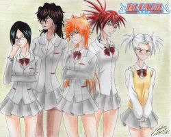 Bleach Girlz by ichiko-senpai