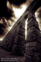 Aqueduct of Segovia by adrumo