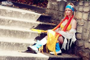 Cosplay Rikku ff x-2 by OriginalRikku
