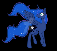 Princess Luna by CandyBattleaxe