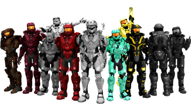 Blood Gulch Crew P2 by RandomDraggon