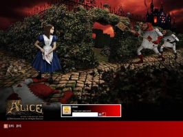 American McGees Alice Logon by GueroTorres