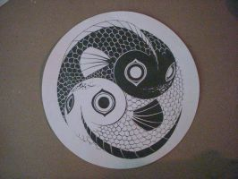 Yin Yang Fish by Artistlover