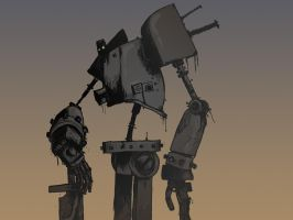 Colossal Robo unfinished by JackHook