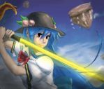 Painting Practice #4 Tenshi! by AgouraVision
