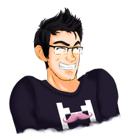 Markiplier!! by MixedMediaBrewing