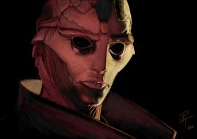 Thane Krios by captdiablo