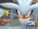 Silver The Hedgehog - OFFICIAL PICTURE - RARE by mathi88