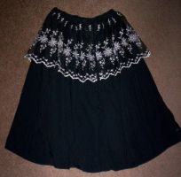 Buttoned Skirt by GothicDorothy