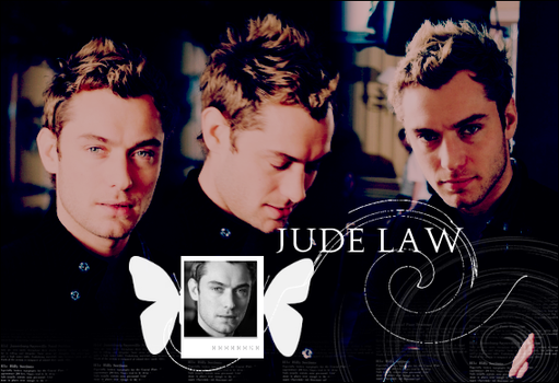 Jude Law blend by desenhistax
