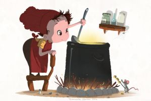 Little Cooker by cury