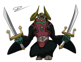 Toon Beast Ganon by GdGreat