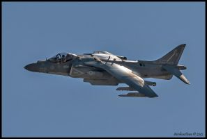Miramar Harrier 2012 by AirshowDave