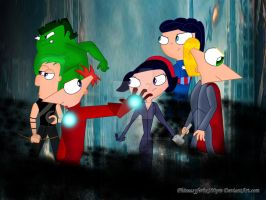 PnF_The avengers by Phineasyferbx100pre