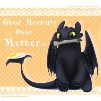 good morning dear master by eggsding
