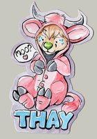 Thay Costume Badge by ThayRustback