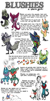 BLUSHIES species guide! by Jarfly