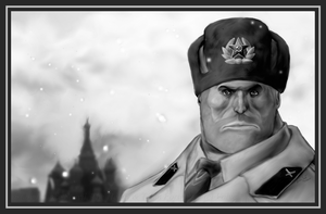 TF2 Heavy Weapons Officer II by birdofyore