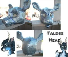 Taldes Mask WIP by IceCatDemon