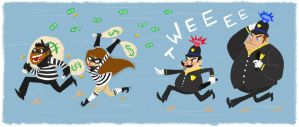 Bank Robbery by NicParris