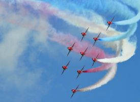 Red Arrows by Trevor-Stephen-Smith
