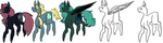 mlp adopts aGaIN by kittermoth