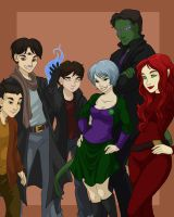 Commission - HP Group by shinga