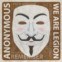 V for Vendetta Anonymous Icon version by Ashley3d