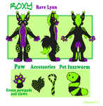 Roxy Reference Sheet by Clawshawt