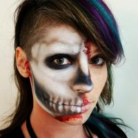 Skull Makeup by anroatch