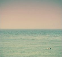 alone fisherman by unspent