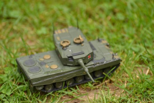 Leopard 2A4 (Aim) by ObieFreak