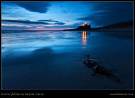 Bamburgh Blues by henroben