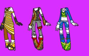 clothe adoptables set2::OPEN:: by Naruto-awesome