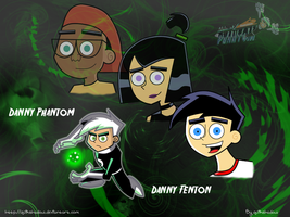 Danny Fenton- Danny Phantom by quikshadow