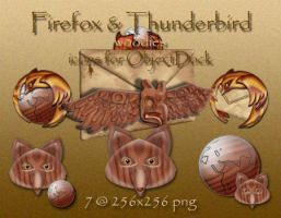 Firefox-Thunderbird Woodies by PoSmedley
