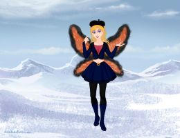 Miss Butterfly (Request) by M-Mannering