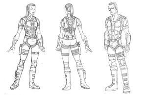 Armor sketch by Ihlecreations