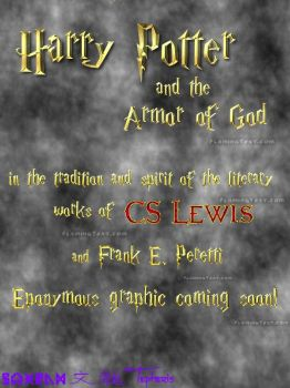 Harry Potter and the Armor of God Cover by Tepheris