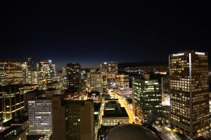 Vancouver Nightscape 001 by Acolite