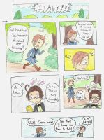 Italy in Wonderland - Page 1 by CaptainAki13
