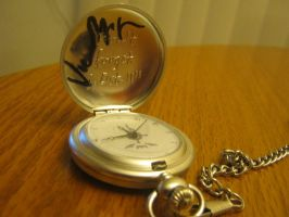 FMA Pocketwatch signed by Vic Mignogna by bunnysmiles
