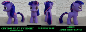 Custom Filly Twilight by janiceghosthunter