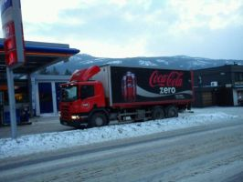 Coke truck by oohcoo