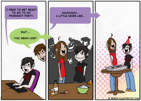 pharmacy parties by miggea