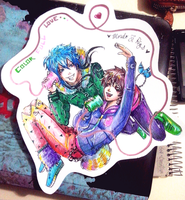 Colorful Love - Morby - by KiraiRei