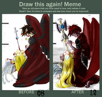 Draw this again MEME by Zezkah